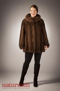 Куртка из норки с кулиской